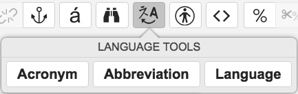 Language Tools