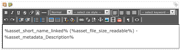 The WYSIWYG Editor on the PDF File Format Bodycopy