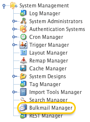 The Bulkmail Manager