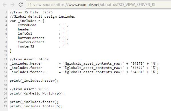 Server Side JavaScript - Concepts - Manuals | Squiz Matrix Community